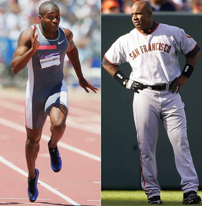 """I don't know Tim Montgomery. I've never met him. When accusations come from someone you don't even know, what can you do? They'll be talking to my lawyer."" <br><br> -- June 25, 2004, to <i> USA Today </i> in response to allegations from a former world-class sprinter that Bonds received steroids from BALCO"