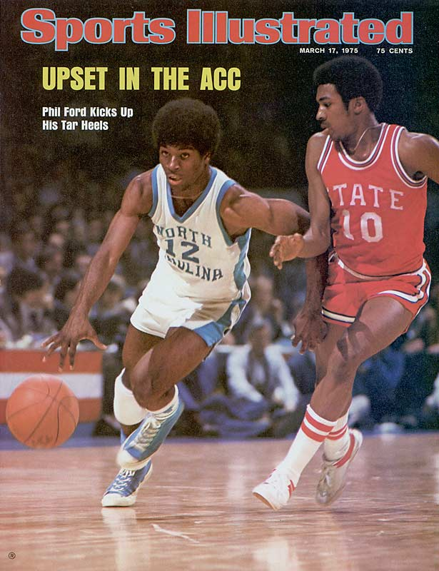 """Playing under Dean Smith from 1975-1978, Ford mastered the """"Four Corners"""" offense on his way to becoming the Tar Heels' all-time leading scorer with 2,290 points. During his career, Ford took home a litany of awards including ACC Athlete of the Year, ACC Player of the Year, ACC Tournament MVP, first team All-America and the Wooden award for Player of the Year."""