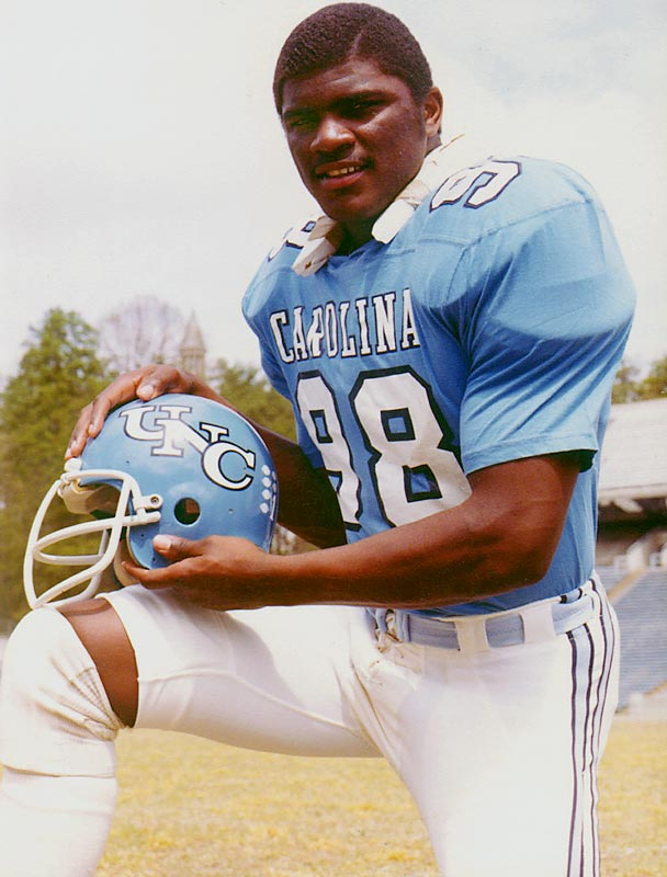 Taylor starred at North Carolina from 1977-1980, winning the ACC's Player of the Year award in his final season on his way to becoming an All-American. LT, a member of the NFL Hall of Fame, holds the UNC records for total sacks and sacks in a single-season.