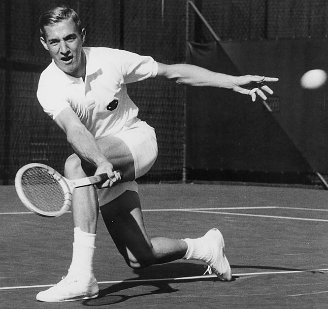 Smith was an All-American three times at USC, winning the NCAA singles title in 1967 and the doubles title the following year.