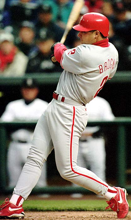 A first baseman who played 10 seasons in the majors, beginning in 1992, Brogna took medication daily after being diagnosed in 1991 with ankylosing spondylitis, a severe form of spinal arthritis.