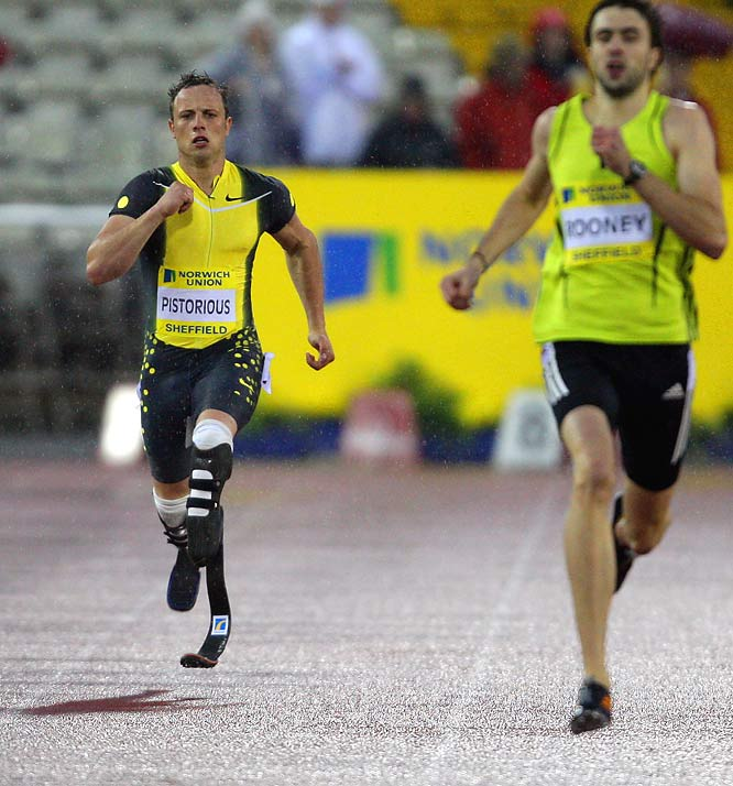 With double-amputee sprinter Oscar Pistorius (far left) winning an appeal and being allowed to compete against able-bodied athletes at the 2008 Beijing Games, SI.com takes a look at some recent Olympic-caliber and professional athletes who have battled through hardships.