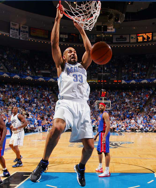 In seven seasons with the Magic after signing a $93 million contract, the oft-injured Hill played just 200 games, meaning he earned a cool $465,000 for every time he took the floor during his time with Orlando.