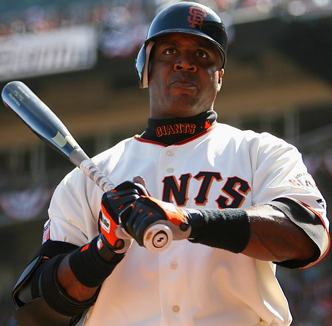 Never a fan favorite because of his rudeness with the media, Bonds' image has suffered in recent years because of the allegations -- and physical appearance -- that he used steroids. His pursuit of Hank Aaron's all-time home run record has brought on even more antipathy from those who feel Bonds is not worthy of taking over the title of Home Run King.