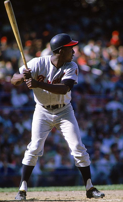 Aaron joined the 500 Home Run Club in 1968, when he hit 29 homers at the age of 34. Aaron was the first player to amass 3,000 hits and 500 homers, becoming the charter member of a club that also includes Willie Mays, Eddie Murray and Rafael Palmeiro.