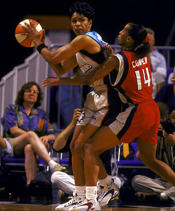 One of the greatest women basketball players, Woodward scored 3,649 points at Kansas and was a four-time All-America. She later led the 1984 Olympic team to a gold medal and became the first woman ever to play for the coveted Harlem Globetrotters. Greg Maddux was our No. 31.