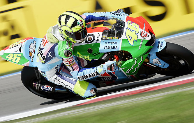 One of the greatest motorcycle racers of all time, Rossi is a seven-time world champion and the youngest rider to have won World Championships in all three classes. His fans said we should have chosen him over reliever Lee Smith.