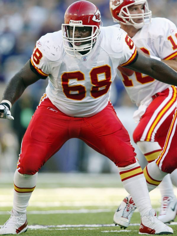 Worthy of consideration? Probably. The Chiefs longtime guard went to the Pro Bowl every year from 1995 to 2006 and started 230 straight games, including the playoffs, the second longest consecutive games streak behind only Brett Favre. Shields retired in April. Jaromir Jagr took top honors at the number.