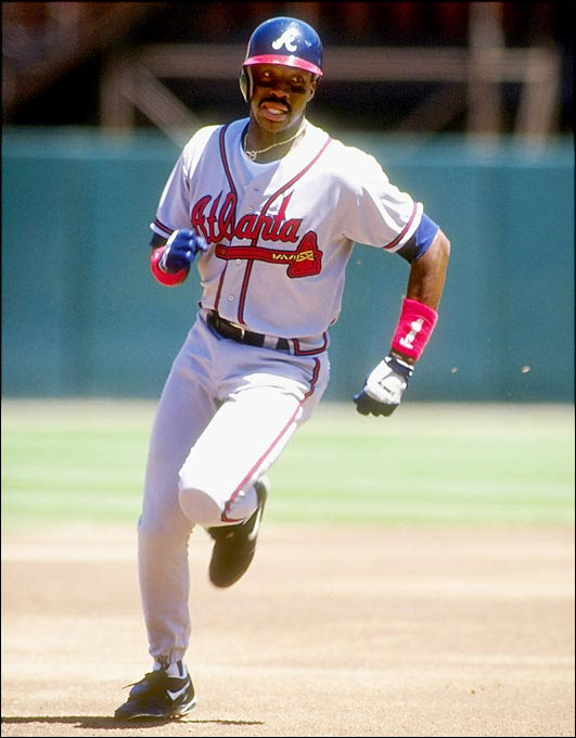 Atlanta took advantage of the Padres' fire sale to bring in McGriff, who sparked the Braves to a 51-18 record the rest of the season and the NL West crown. The Crime Dog batted .310 with 19 home runs and 55 RBI.