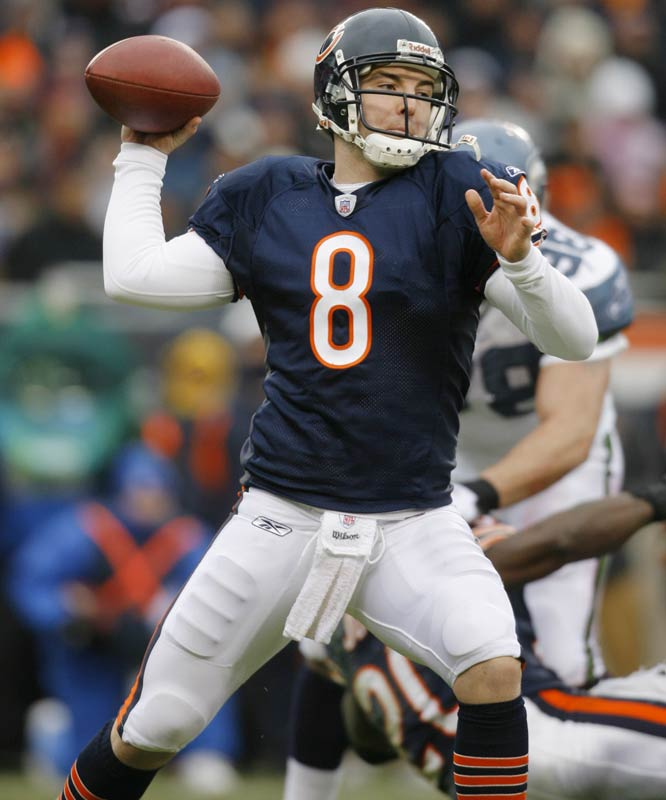 Leading the Bears to the Super Bowl in his first season as a starter did nothing to quiet Grossman's many critics, who think the young quarterback is too erratic to carry this team to a championship.