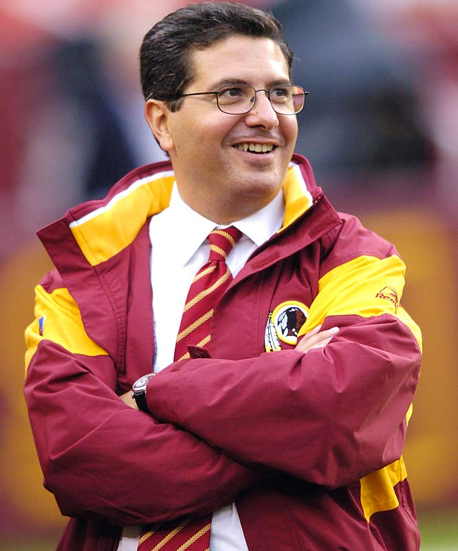 The marketing magnate who paid $800 million for the Redskins in 1999 and has poured millions into high-priced (and well-publicized) players and coaches, has yet to win a title as Washington's owner.