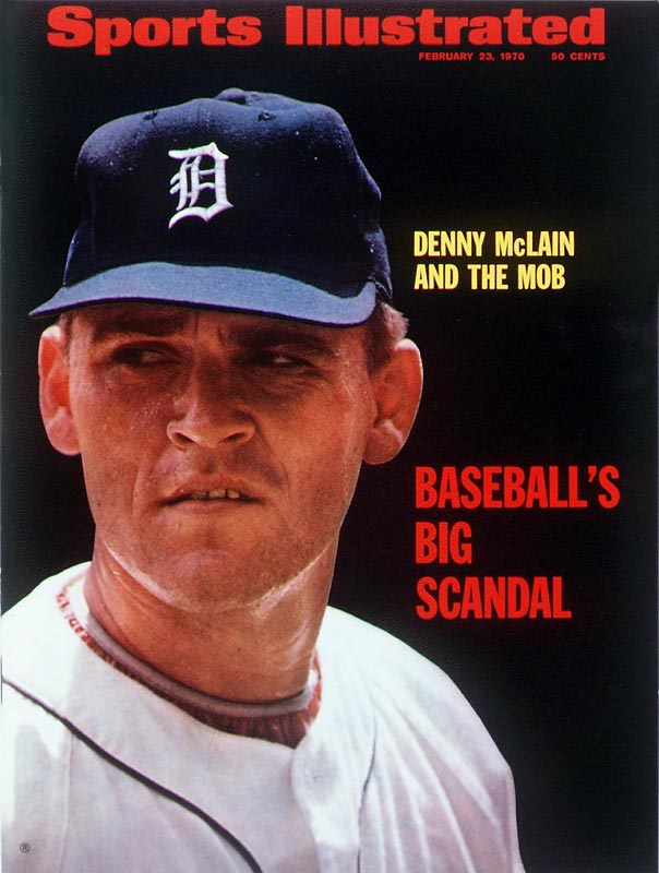 The last Major League pitcher to record 30 wins in a season, McLain's MLB career ended in 1972, when he was 28, due to arm injuries and ties to organized crime. Since his playing days ended, he has been sent to jail twive for the federal crimes of drug trafficking, embezzlement (twice), racketeering and mail fraud.