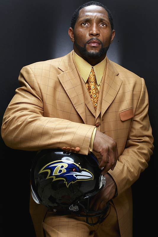 Ray Lewis at an SI photo shoot in 2006.