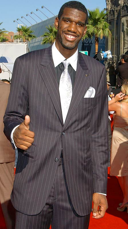 Greg Oden at the 2007 ESPY Awards.