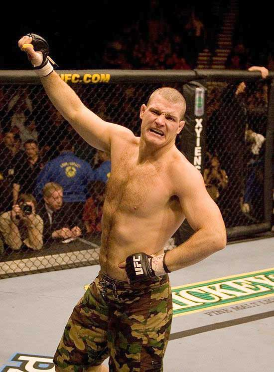 """The Count"" was the standout of The Ultimate Fighter Season 3. The British native is planned to be a regional superstar as the UFC expands its European influence. An action fighter with solid standup and a good submission game, Bisping could be a force for years to come."