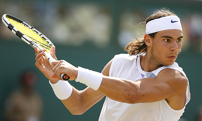 Rafael Nadal leads Roger Federer 8-5 in their career series, but he has yet to beat the Swiss star on grass.