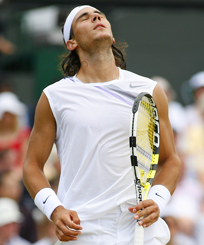 Rafael Nadal had his chances in the final set, holding break points at 1-1 and 2-2 but failing to close the deal both times.