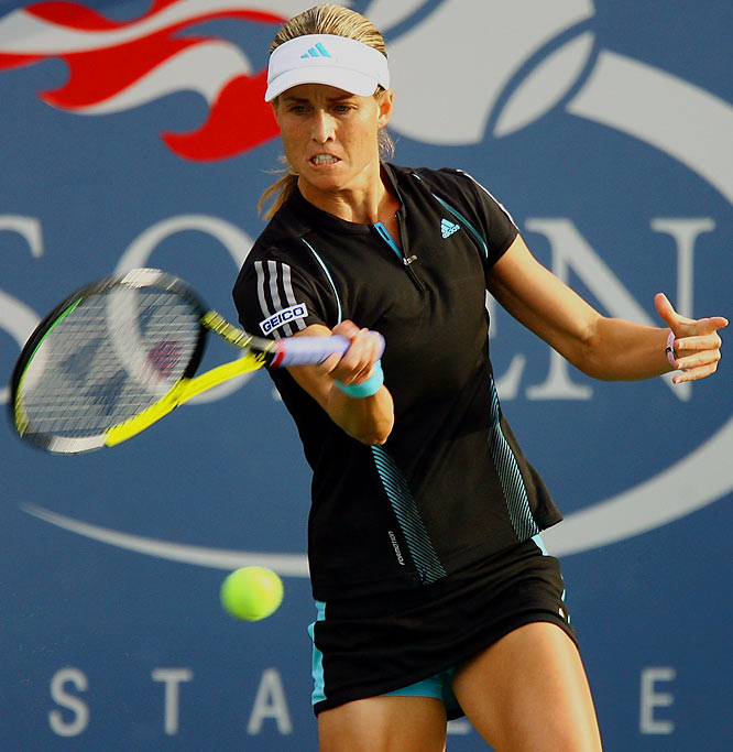 This industrious veteran is enjoying a nice late-career resurgence. She has never gone further than the third round of the U.S. Open, but bagged a couple of titles in the past few years and a demolition of Justine Henin in last spring's Nasdaq-100 in Miami.