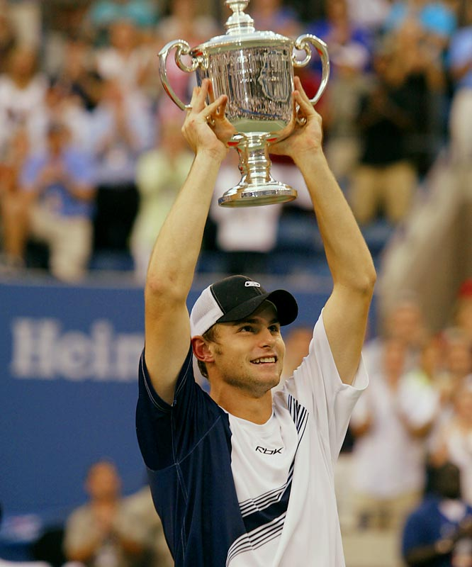 Roddick's best year on Tour came in 2003. He won Master Series titles in Montreal and Cincinnati and defeated Juan Carlos Ferrero to win the U.S. Open.