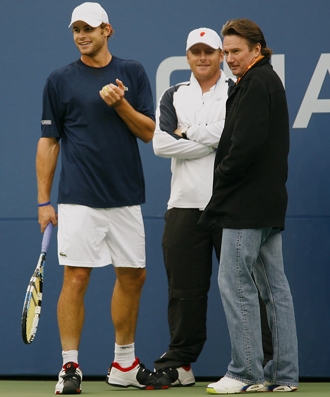 Last year Roddick reached out to tennis legend Jimmy Connors following an early exit at the French Open. The two have worked together over the past year with mixed results. Roddick reached the finals of the U.S. Open in 2006 and the semifinals of the 2007 Australian Open, but lost in the opening round of the French Open and the quarters of Wimbledon.