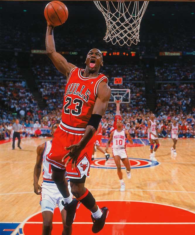 Michael Jordan's tongue.