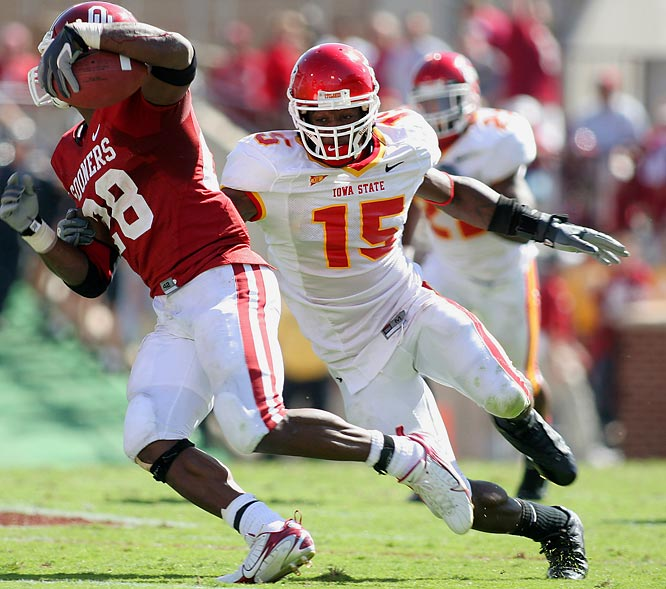 """Known to his teammates as """"Ace,"""" Bowen led the NCAA in tackles per game (12.9). A bit undersized last year, Bowen added 15 pounds of muscle in the offseason."""