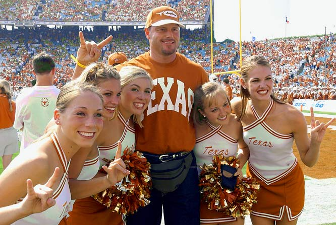 The Rocket landed in Austin in 1982 and in two seasons with the Longhorns compiled a 25-7 record with a 2.62 ERA. He was twice named an All-American and led UT to the 1983 national championship. He became the first Texas baseball player to have his number retired and in 2004, the NCAA started handing out the Roger Clemens Award to honor the nation's best pitcher.