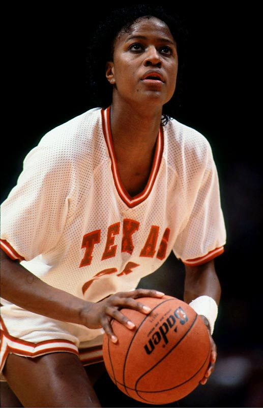 Davis made an immediate impact by leading undefeated Texas (34-0) to the 1986 NCAA Championship where she was named Most Outstanding Player. She won the Naismith National Player of the Year twice (1987, 1989) and led the Longhorns to the Final Eight twice (1988, 1989).