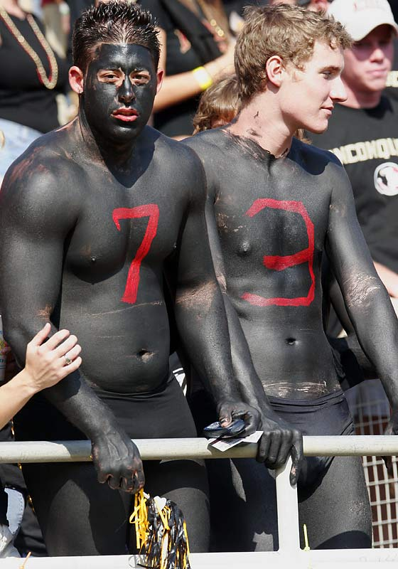 FSU fans celebrated Blackout Day at the Doak during a game against Boston College last October.