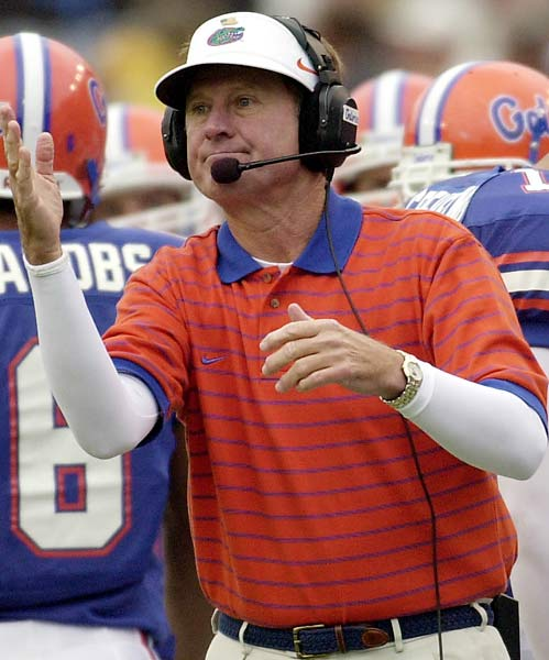 As a player, Spurrier was a first team All-American in 1965 and 1966. He won the Heisman Trophy and SEC Player of the Year honors in '66 and was selected third overall in the '67 draft by San Francisco. Spurrier had even more success in his 12 season as Gators' head coach, winning seven SEC championships, one national title and finishing the season with a top-10 team ranking nine times.