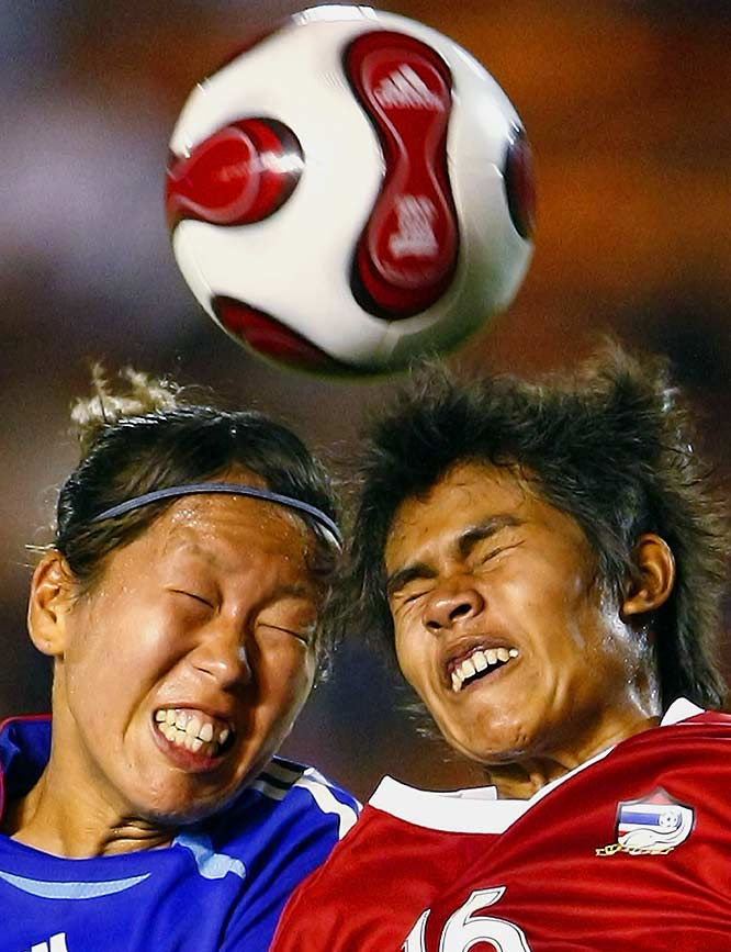 Come on, you can't be THAT afraid of a soccer ball.