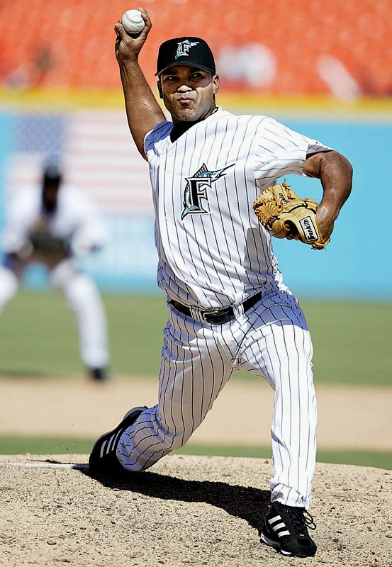 The two-time All-star and 1999 National League saves leader was convicted of attempted murder charges and sentenced in 2007 to 14 years in prison stemming from a 2005 incident.