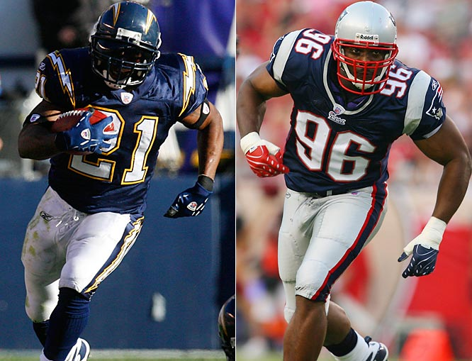 Week 2 - September 16<br><br>When the Patriots danced after knocking off San Diego in the 2006 playoffs, the normally stoic Tomlinson called them out for lacking class. Whether or not the Pats added that in the off-season, they surely added firepower with free agent Adalius Thomas, who tried his hand at nearly every defensive position as a Raven. Says Tomlinson, who rushed for 98 yards but no TDs against Baltimore last year, ''The guy is just a freak of nature.'' LT's a do-it-all guy himself. Not only did he score a record 31 TDs in '06 -- 28 on the ground, three through the air -- but he also tossed two TD passes. In this matchup of AFC Super Bowl contenders, may the best slash win.