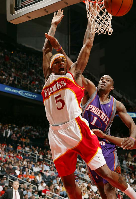 The Hawks will have to pay up if they want to keep the do-it-all forward and Atlanta native, who is eligible to sign an extension before the season. Smith joined Shawn Marion and Ben Wallace as the only players to finish in the top 20 in rebounds, steals and blocks last season, and he also improved his scoring average each month (topping out at 21.1 points in April). Even better, he already has three seasons under his belt and won't turn 22 until December.