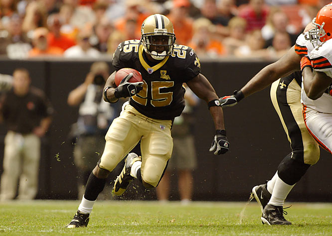 The Saints are favored in some corners to reach the Super Bowl this season. Here's a look back at their inspirational 2006, which began with Reggie Bush running for 67 yards and leading the team  to a season-opening 19-14 win at Cleveland.