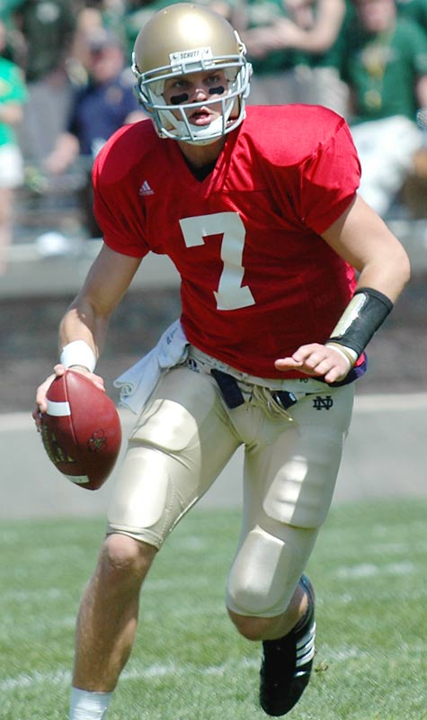 This Saturday-night showdown has proven to be one of 2007's toughest tickets. It could be Jimmy Clausen's first college road start. The Irish embarrassed the Nittany Lions in last year's 41-17 shellacking.