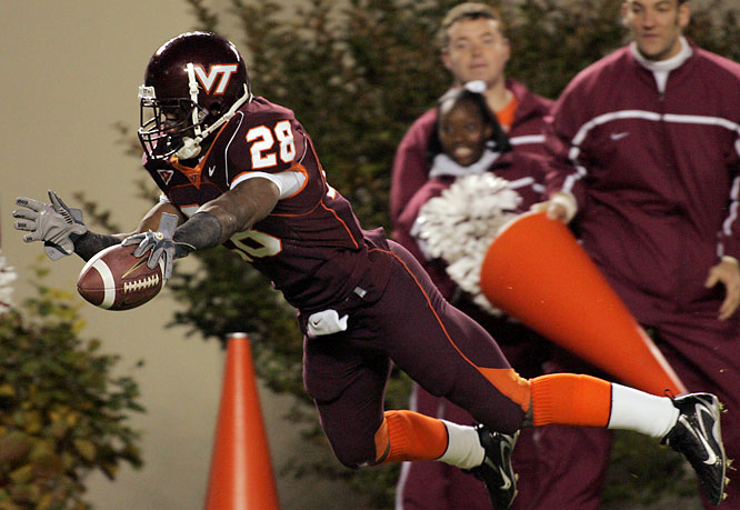 Ore started camp out of shape and was in Frank Beamer's doghouse. But recent reports indicate he's set things right and is ready to improve on last year's 1,137-yard, 16-touchdown campaign.