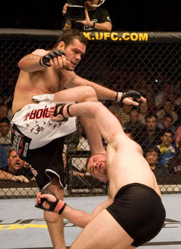 "Gonzaga's high-kick knockout of Mirko Cro Cop is among UFC's most memorable moments. Next up for the big Brazilian is a heavyweight title shot against Randy ""The Natural"" Couture."