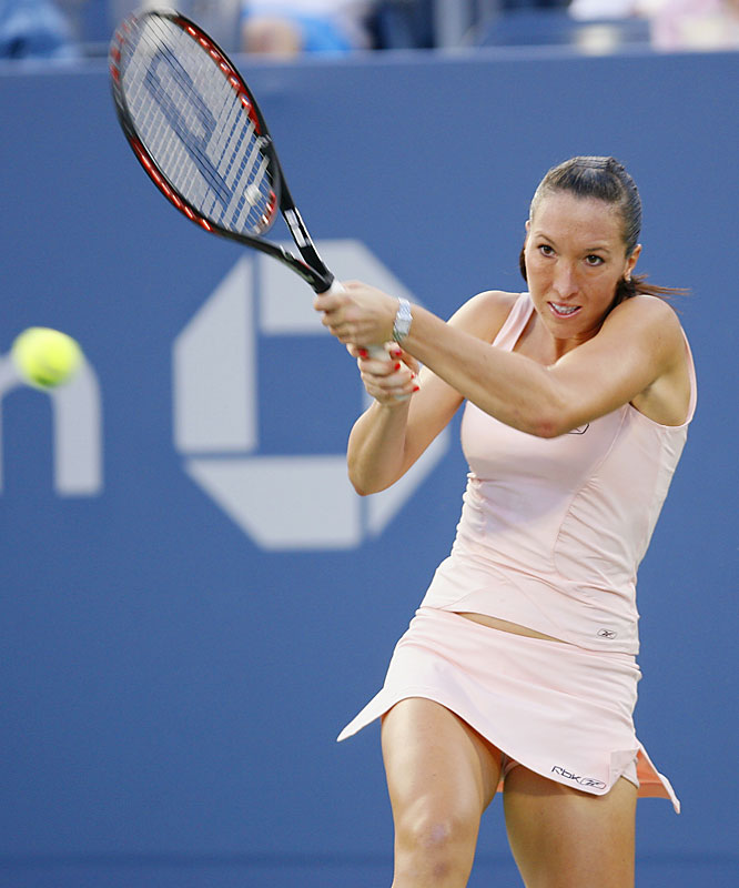 Third seed Jelena Jankovic of Serbia, a semifinalist at last year's U.S. Open, had an easy time with Olga Govortsova of Belarus, scoring a 6-2, 6-2 triumph.