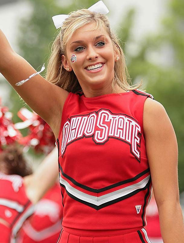 Meet Allison, a sophomore at THE Ohio State University and proud member of the Buckeyes cheer squad. Off the field, Allison likes to watch <i>Grey's Anatomy</i>, listen to country music and watch her favorite basketball team, the Cleveland Cavs. Wanna learn more about Allison? Click on the 20 Questions link below.
