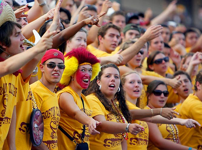 Boston College fans showed up in full force for the Eagles' matchup against former coach Tom O'Brien and his N.C. State Wolfpack.