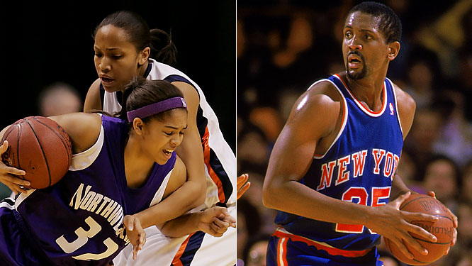 During her freshman year at Northwestern, Kristen told the school newspaper that when she didn't listen to her father, Bill (a former NBA player and current Nets assistant), about her shot selection, Vince Carter called her cell phone and left a message about it.
