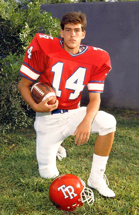 Coolbaugh was the starting quarterback for Roosevelt High.