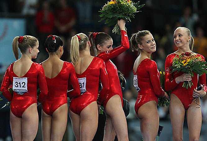 See you in Beijing:  After winning their first world championship on international soil, the U.S.' next chance at a big medal is the 2008 Summer Olympics.