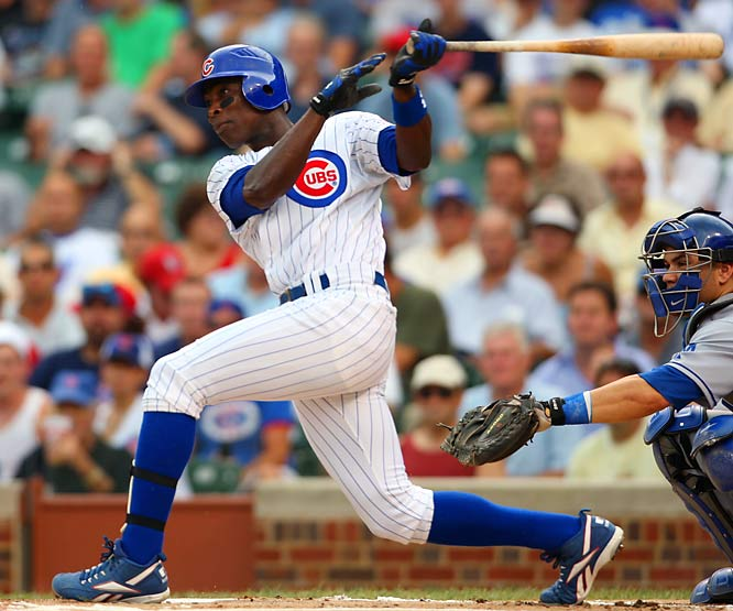 The Cubs' Alfonso Soriano has 12 home runs, 23 RBIs and a 1.029 OPS in September this year to help Chicago to the top in the NL Central.