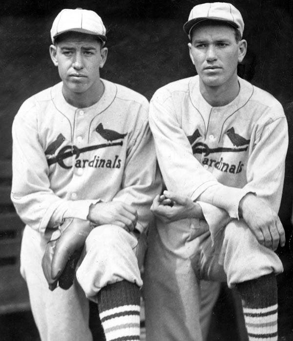"On Sept. 21, 1934, St. Louis' Dizzy Dean pitched a three-hit shutout against the Brooklyn Dodgers in the first game of a doubleheader. His brother Paul then threw a no-hitter in the nightcap. ""If I'd known you was gonna throw a no-hitter, I'd thrown one too!"" Dizzy said to his brother after the game. The Cardinals needed both wins to edge the Giants for the NL pennant."