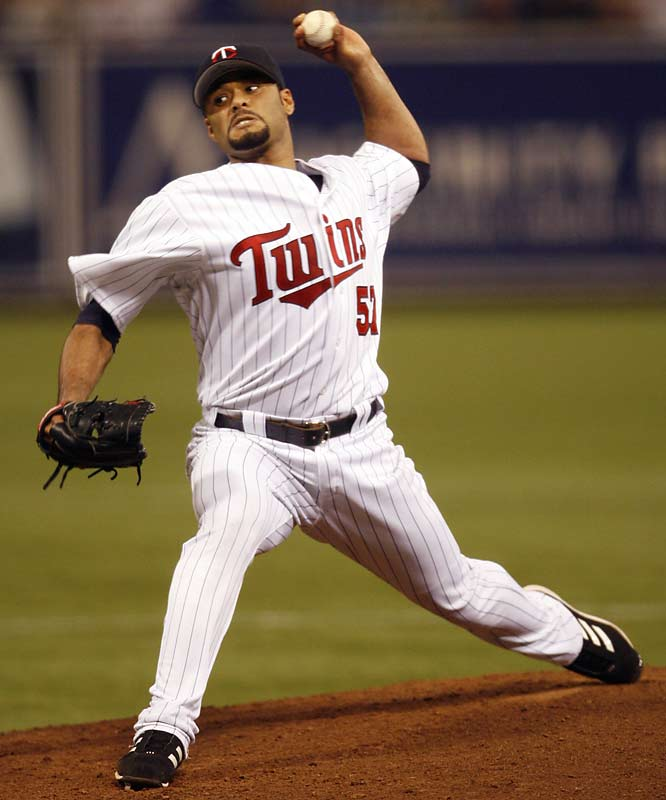 On his way to winning the the Major League pitching Triple Crown in 2006, Johan Santana led the Twins to an improbable division crown by allowing just seven runs in 35 1/3 innings in September.