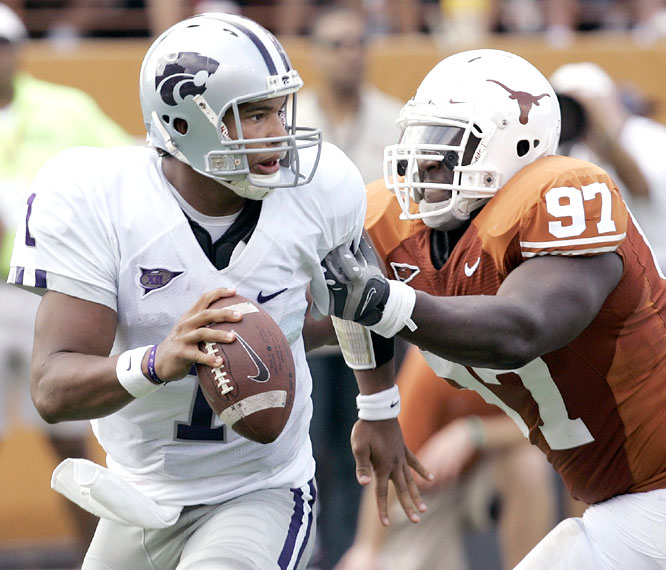Josh Freeman and the Wildcats beat the Longhorns for the second straight year and handed Texas its worst home defeat in 10 years under coach Mack Brown.