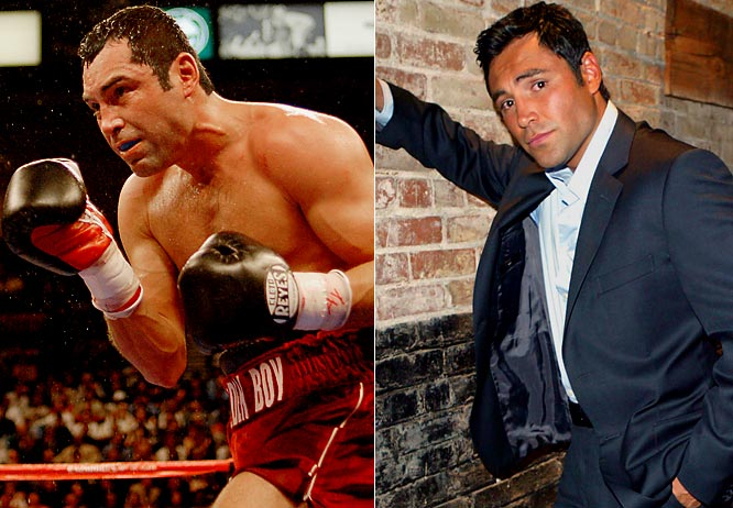 Who needs Oscar de la Renta when there's De La Hoya? At ease in trunks or a tux for a press conference, the Oscar for boxing's fashion hit list goes to Oscar.