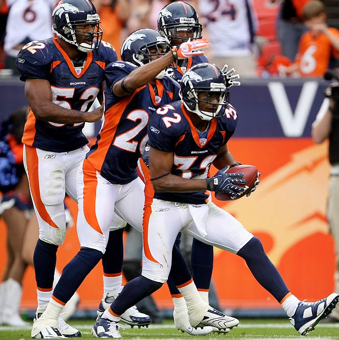 Along with Champ Bailey, Bly (32) is half of the best corner combo in the league. (At the end of Week 4, the Broncos were giving up a league-low 114.5 pass yards per game.) From his rookie year in 1999 through Week 4 of this season, Bly has the third most interceptions (34) in the league.